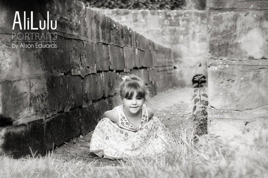 Children's portrait photography in Nottingham