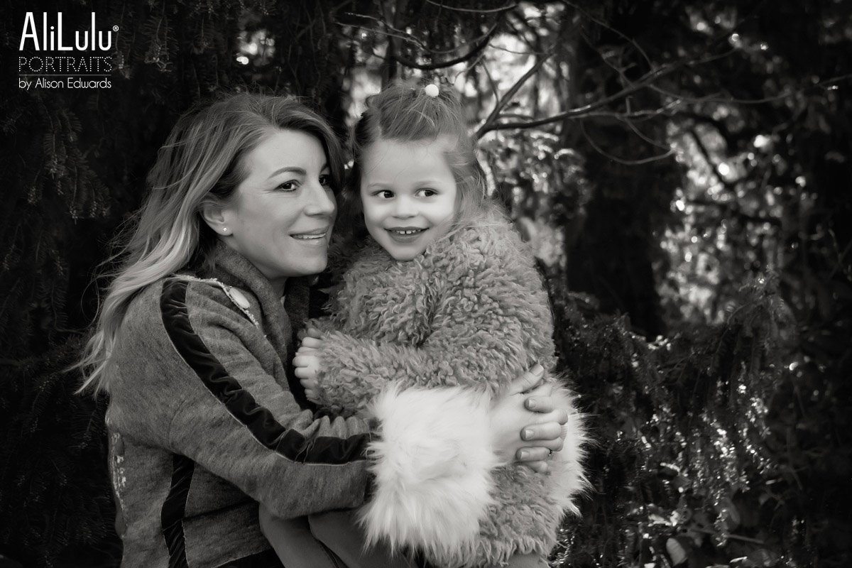 mum and daughter laughing