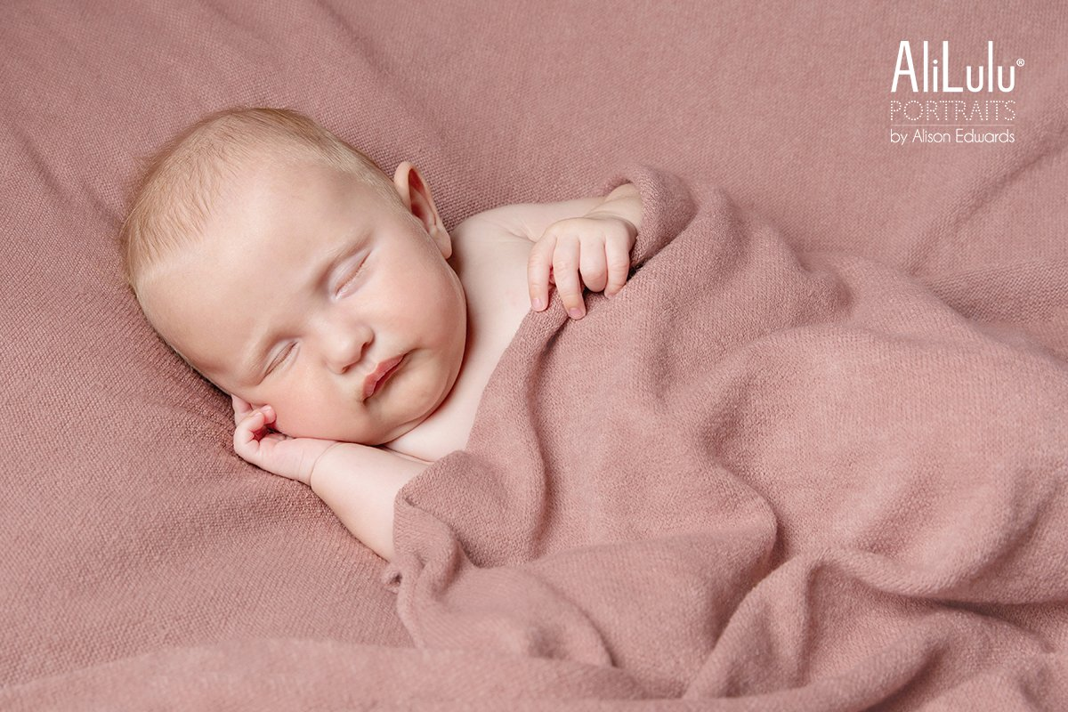 4 month old baby girl sleeping