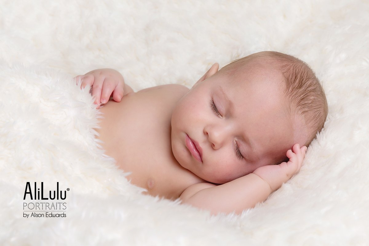 5 month old baby sleeping