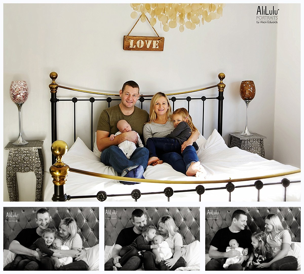 lifestyle baby photos at home