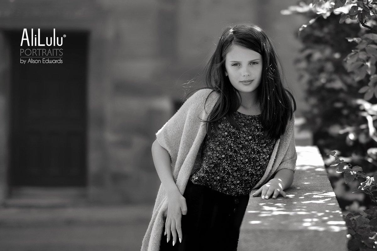 teenage girl mini photo session